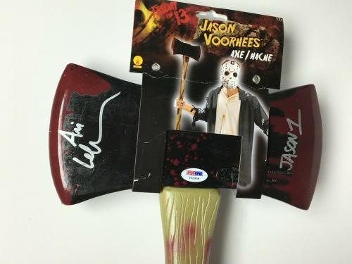 "Ari Lehman Signed Friday The 13th Axe/Hache Prop ""Jason 1"" PSA Y50938"