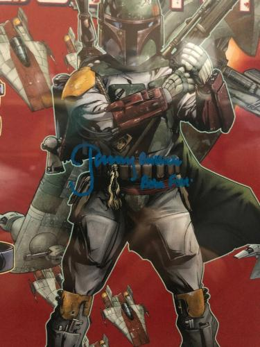 Jeremy Bulloch Signed Stars Wars Boba Fett Comic Book Beckett Slabbed 8