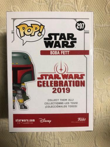 Jeremy Bulloch Signed Autographed Boba Fett Star Wars 2019 Funko Pop Beckett 11