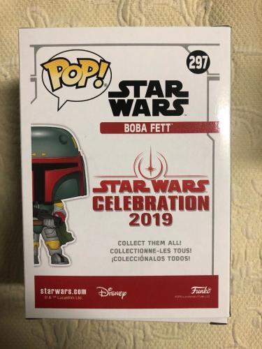 Jeremy Bulloch Signed Autographed Boba Fett Star Wars 2019 Funko Pop Beckett 18