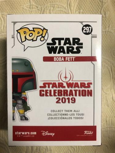 Jeremy Bulloch Signed Autographed Boba Fett Star Wars 2019 Funko Pop Beckett 5