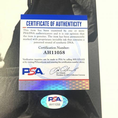 Krist Novoselic Signed 12x18 Photo PSA/DNA autographed