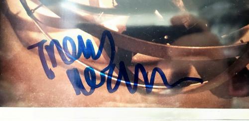 TRENT REZNOR Signed Autograph Nine Inch Nails NIN 8x10 Photo Beckett BAS SLABBED