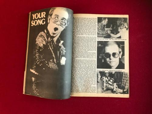 "1976, Elton John, ""ELTON"" Magazine (No Label) Scarce / Vintage"