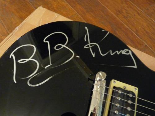 BB King Blues Signed Autographed Electric Guitar PSA Certified HUGE SIGNATURE