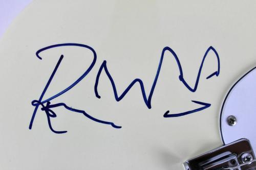 Rolling Stones Autographed Jagger, Richards, Watts, Wood Signed Guitar JSA coa