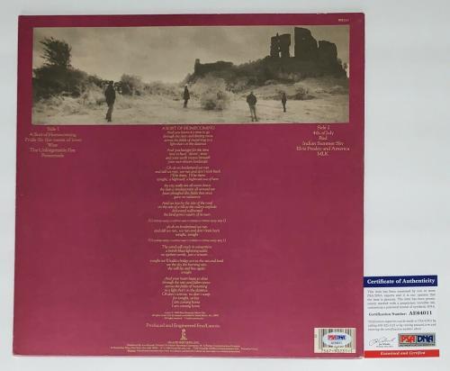 Bono Signed U2 The Unforgettable Fire Record Album Psa Coa Ae64011