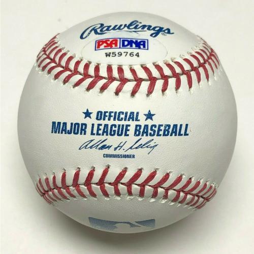 Stan Lee Signed Major League Baseball *Spider-Man **Excelsior Marvel PSA W59764