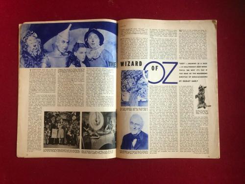 "1939, Wizard of OZ, ""Family Circle"", Magazine (No Label) Scarce / Vintage"