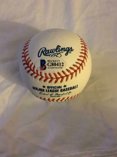 "PATRICK RENNA Signed MLB Baseball ""You're Killin' Me Smalls"" THE SANDLOT BAS COA"