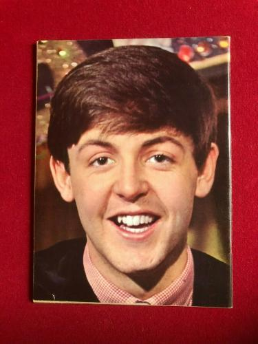 "1964, Paul McCartney, Beatles, ""PAUL"" Magazine (Scarce / Vintage)"