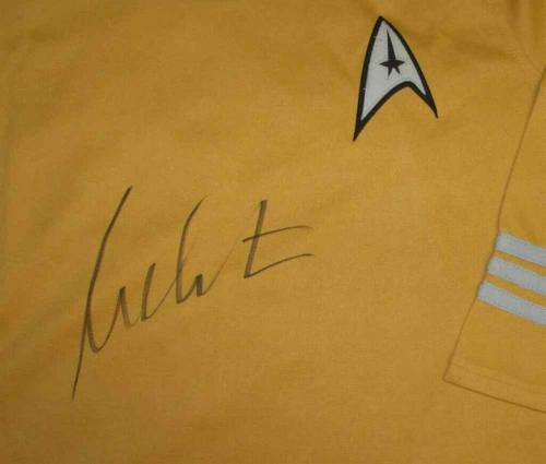 William Shatner Captain Kirk Star Trek Uniform Shirt Beckett BAS COA AFTAL