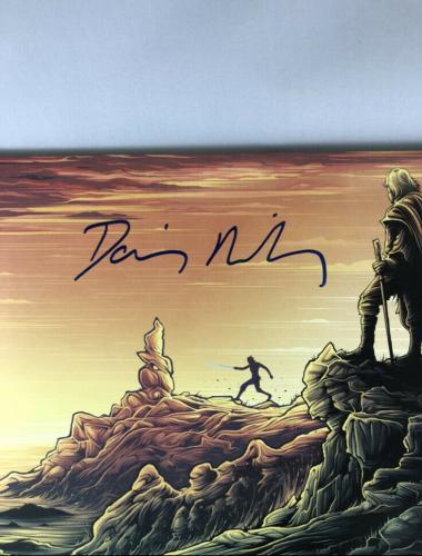Daisy Ridley Signed Star Wars The Last Jedi Soundtrack Vinyl Bas Beckett
