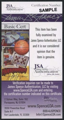 Roger Moore JSA Coa Signed 8x9 James Bond Photo Autograph