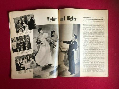 "1944, Frank Sinatra, ""SCREEN ROMANCES"" Magazine  (No Label )Scarce / Vintage"