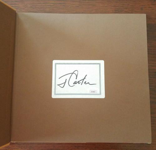 JIMMY CARTER Signed Book The Craftsmanship of Jimmy Carter JSA Auto President