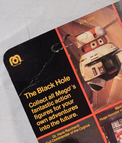 Black Hole Maximmillian Action Figure Mego 1979 MOC New Robot Disney