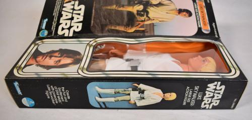 "Star Wars Luke Skywalker 12"" Large Size Action Figure Kenner 1978 MIB New"