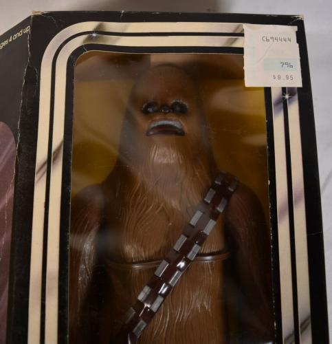"""Star Wars Chewbacca 12"""" Large Size Action Figure Kenner 1978 MIB New"""