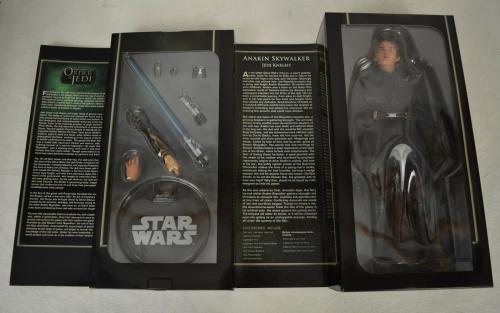 "Star Wars Order Of The Jedi Anakin Skywalker 12"" Action Figure Sideshow New"