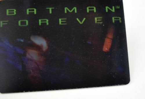 Batman Forever Dynamic Marketing Megamotion Card Redeemed Mail Away Set Movie