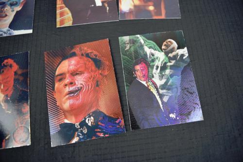 Batman Forever Dynamic Marketing Enemy Minds Laser Etched 9 Cards Set E1 - E9