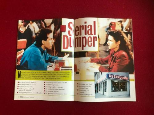 "1998, SEINFELD, ""Special Collector's Edition"" Magazine (No Label)  Vintage"