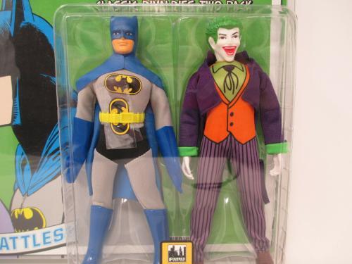 Batman & Joker Retro 8 inch Action Figures Limited Edition ~ FIgures Toy Co