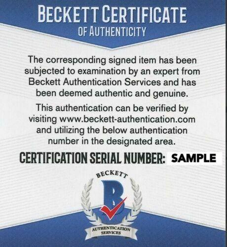 Quentin Tarantino Signed Autograph Pulp Fiction Movie Script Beckett Bas Auto E