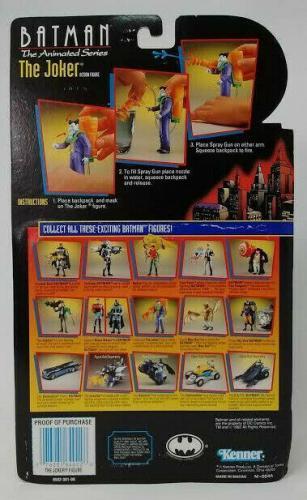 The Joker Action Figure - Batman the Animated Series - w/ Laughing Gas Gun