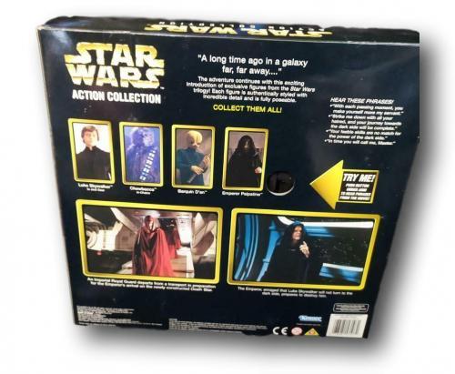 Star Wars Collector Series Emperor Palpatine & Royal Guard Figurine NIB R52-4
