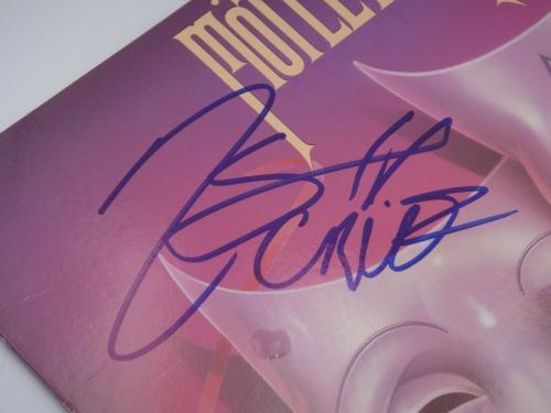 Motley Crue Signed Theatre Of Pain Album Autograph Mars Neil Lee Sixx Jsa Letter