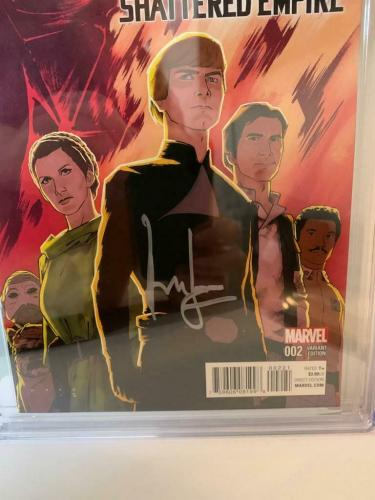 Han Solo Force Awakens #2  CGC 9.8 Signed Harrison Ford Signature Series Comic