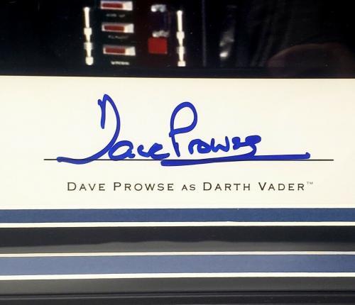 DAVE PROWSE Signed Darth Vader STAR WARS 11x14 Official Pix Photo PSA/DNA FRAMED