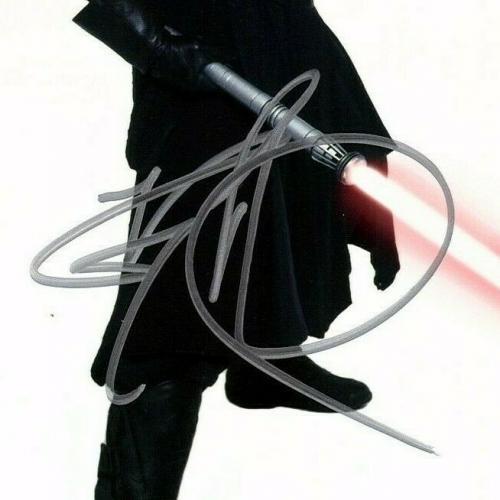 "RAY PARK Signed Auto STAR WARS Official Pix ""DARTH MAUL"" 8x10 Photo JSA #CC88168"