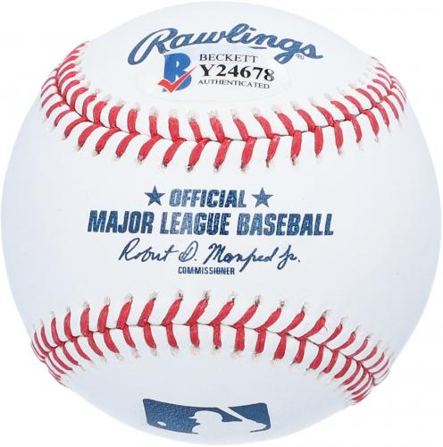 Christopher Lloyd Back to The Future Autographed Baseball