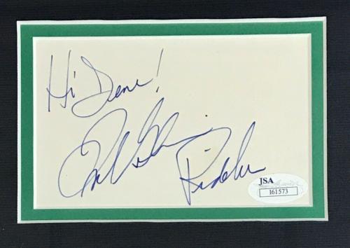 FRANK GORSHIN d.2005 (The Riddler- Batman) signed custom framed display-JSA