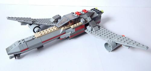 Lego Star Wars Rebel Starfighter Building Toy Set Unidentified 3 Mini Figures