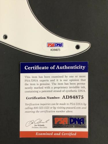 Trey Anastasio Signed Guitar Pickguard Phish TAB Frontman Rock Autograph PSA/DNA