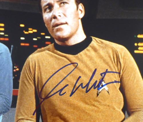 William Shatner Autographed 11x14 Photo Star Trek JSA Stock #178311