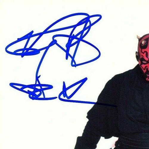 "RAY PARK Signed Autographed STAR WARS ""DARTH MAUL"" 8x10 Photo BECKETT BAS U12207"