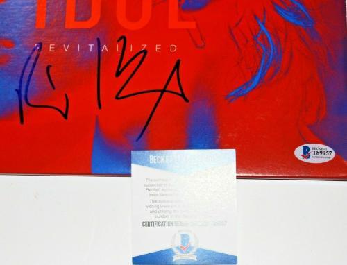 BILLY IDOL signed (VITAL IDOL REVITALIZED) Vinyl *PROOF* RECORD ALBUM LP BECKETT