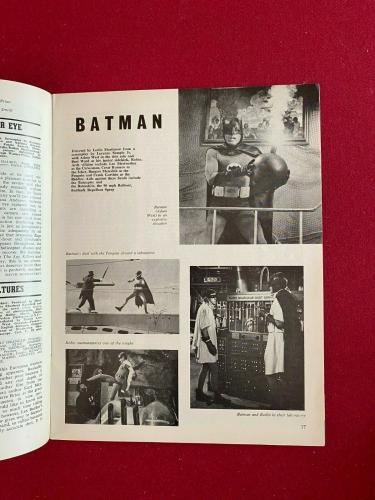 "1966, BATMAN, ""Films and Filming"" Magazine (No Label) Vintage / Scarce"