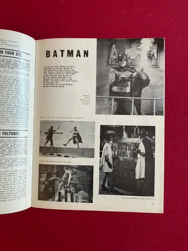 "1966, BATMAN, ""Films & Fiming"" (No Label) Magazine (Scarce / Vintage)"
