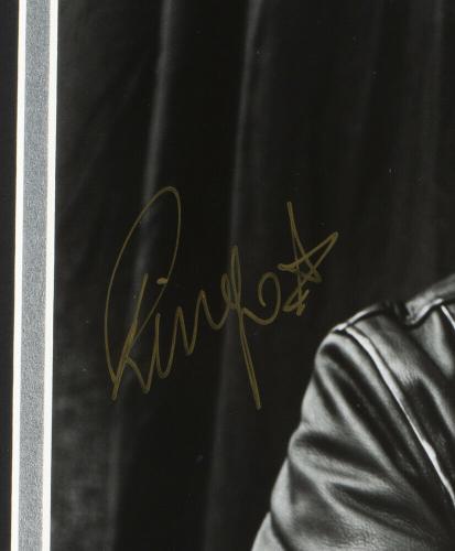 Ringo Starr The Beatles Signed Framed 8x10 Photo JSA Auction LOA