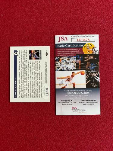 """1991, William Shatner (Capt. Kirk), """"Autographed"""" (JSA) Star Trek Foil Card"""