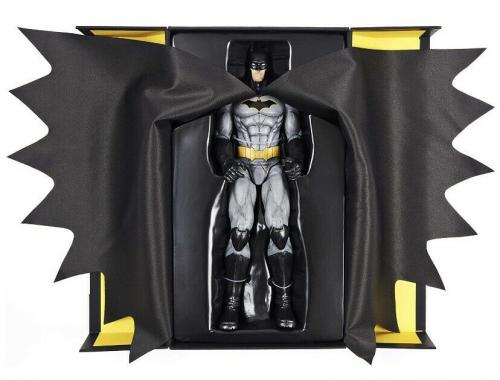BATMAN 12-inch Action Figure with Deluxe Cloth Cape Exclusive In Hand