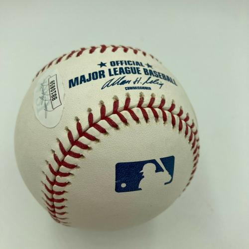 Leonard Nimoy Single Signed Major League Baseball Spock Star Trek JSA COA RARE