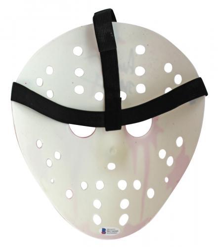 Ari Lehman Friday The 13th Jason 1 Signed White Jason Mask BAS Witness