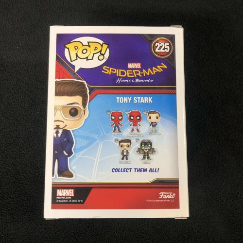 Tony Stark Spider-Man Homecoming SDCC Exclusive Funko Pop Figure # Iron Man
